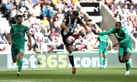 Match Analysis: Newcastle United 1-1 Watford, 31 Aug 2019