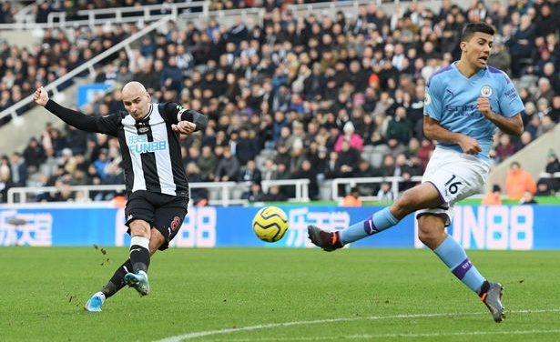 Match Analysis: Newcastle United 2-2 Manchester City, 30 Nov 2019